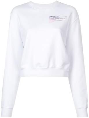 Off-White Off White x The Webster gradient sweatshirt