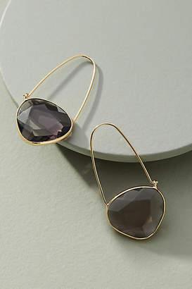 Anthropologie Noelle Crescent Hoop Earrings