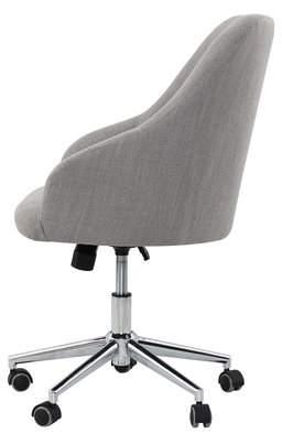 Willa Arlo Interiors Rashida Tufted Swivel Mid-Back Desk Chair
