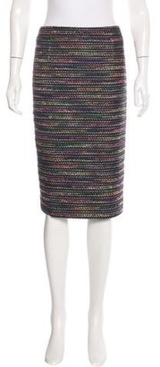 Rachel Roy Stripe Tweed Skirt $60 thestylecure.com