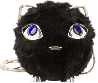 Kate Spade Kate Spade New York Jazz Things Up Fluffy Cat Bag
