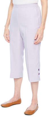 Alfred Dunner Roman Holiday Capris-Petite