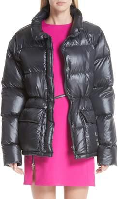 Alexander Wang Oversize Down Fill Puffer Coat