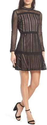 Adelyn Rae Naia Lace Sheath Dress