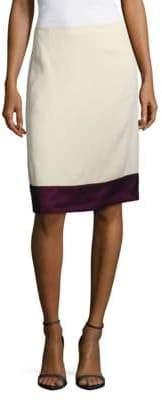 Lanvin Gonna Pencil Cut Skirt
