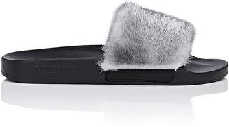 Givenchy Women's Mink Fur Slide Sandals