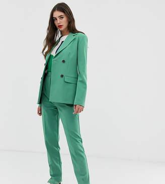 Asos Tall DESIGN Tall slim suit pants In sage