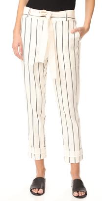 Derek Lam 10 Crosby Drawstring Utility Pants $450 thestylecure.com