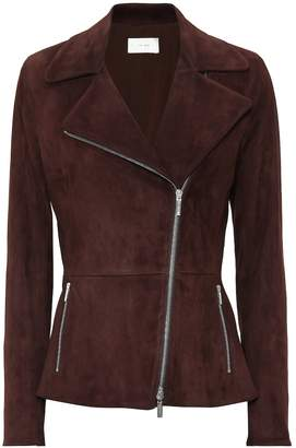 The Row Paylee suede jacket