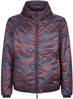 Emporio Armani Reversible Hooded Jacket