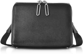 3.1 Phillip Lim Black Leather Ray Triangle Crossbody Bag