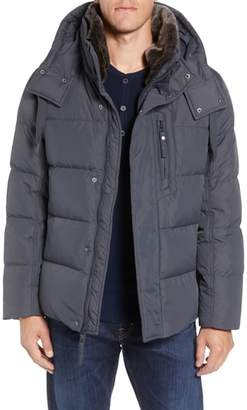 Andrew Marc Baltic Faux Fur Trim Down & Feather Fill Parka