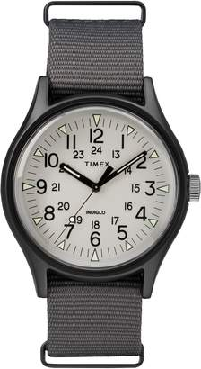 Timex R) MK1 Nylon Strap Watch, 40mm