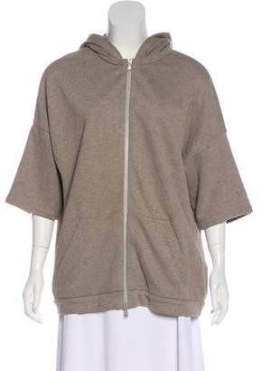 Brunello Cucinelli Hooded Zip-Up Cardigan