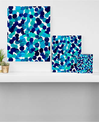 Deny Designs Amy Sia Gracie Spot Blue Canvas Collection
