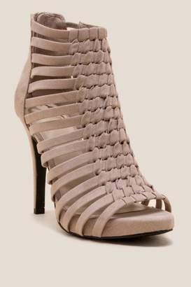 Fergalicious Tinker Strappy Heel - Taupe