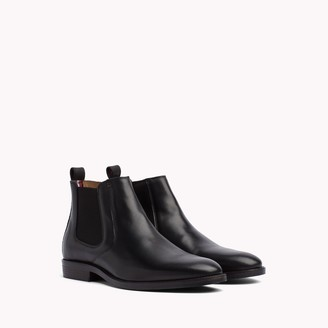 Tommy Hilfiger Leather Chelsea Boot