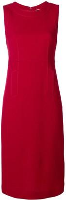 P.A.R.O.S.H. slim fit dress