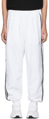 Gosha Rubchinskiy White adidas Originals Edition Logo Lounge Pants