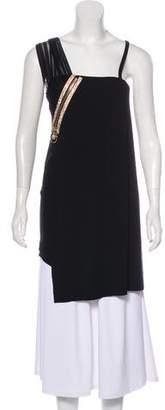 Versace One-Shoulder Sleeveless Dress