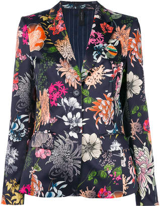Marc Cain floral-print blazer