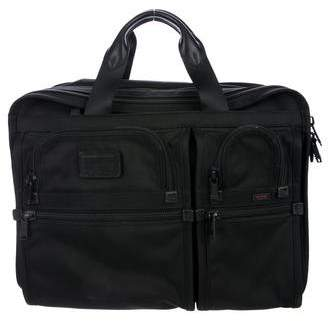 Tumi Large Expandable Computer Briefcase