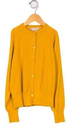 Marni Girls' Knit Cardigan