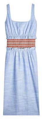Stella Jean Striped Cotton Dress