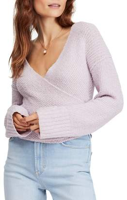 Free People Faux Wrap Sweater