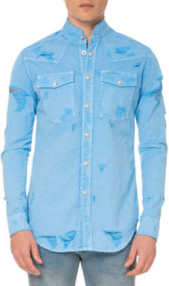 Balmain Men's Western Shirt