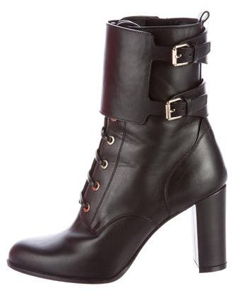 Valentino Valentino Lace-Up Ankle Boots