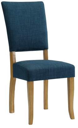 Walker Edison Open-Back Parsons Dining Chair, Set of 2