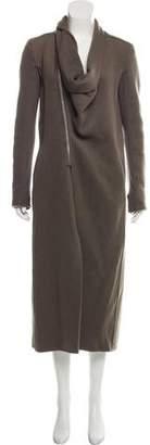 Rick Owens Cashmere Long Coat