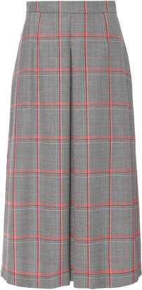 Escada Reves Plaid Virgin Wool Skirt