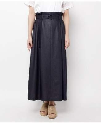 modify (モディファイ) - モディファイ ベルテッドタックロングスカート