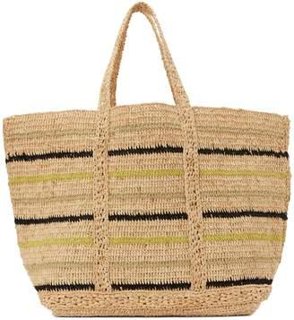 Vanessa Bruno Large raffia shopping bag