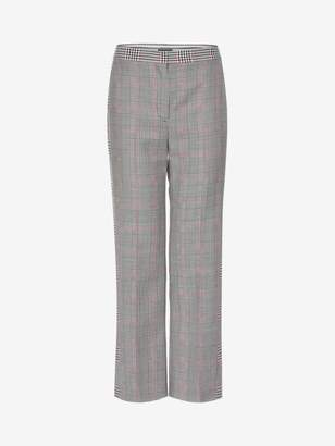 Alexander McQueen Prince Of Wales Cigarette Pants