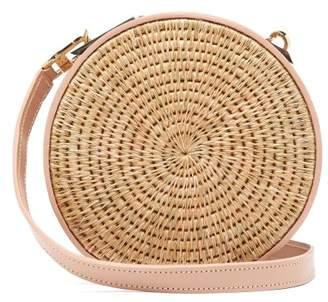 Khokho - Sindi Leather Trimmed Basket Bag - Womens - Light Pink