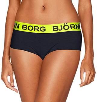 Bjorn Borg Women's 1P Minishorts Bb Seasonal Solid Brief,(Manufacturer Size: 38)