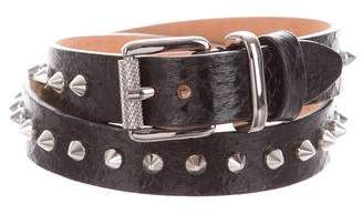 Barbara Bui Spike-Embellished Waist Belt w/ Tags