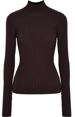 Veda Arrow Ribbed Wool-Blend Turtleneck Sweater