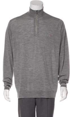 John Smedley Sea Island Cotton Zip Sweater
