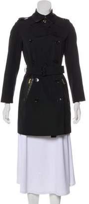 Burberry Harleby Nova Check-Lined Coat