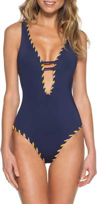 Becca Camille Reversible One-Piece Swimsuit