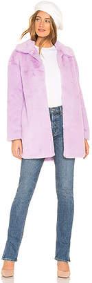 About Us Alie Faux Fur Coat