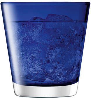 LSA International Asher Tumbler, Set of 6, Cobalt