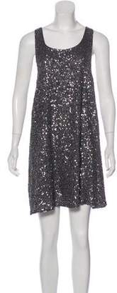 Alice + Olivia Sequin Mini Dress