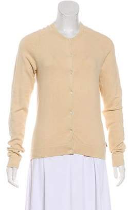 Burberry Long Sleeve Knit Cardigan