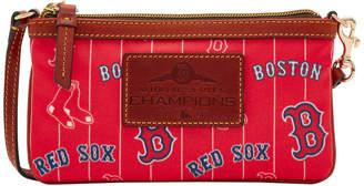 Dooney & Bourke MLB Red Sox 2018 World Series Large Slim Wristlet