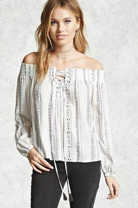 Forever 21 Contemporary Self-Tie Top